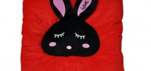 El cojín conejo USB con diseño cute