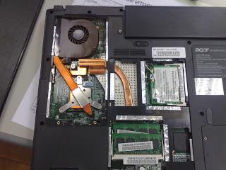 Sistema para refrigerar los portátiles sin ventiladores